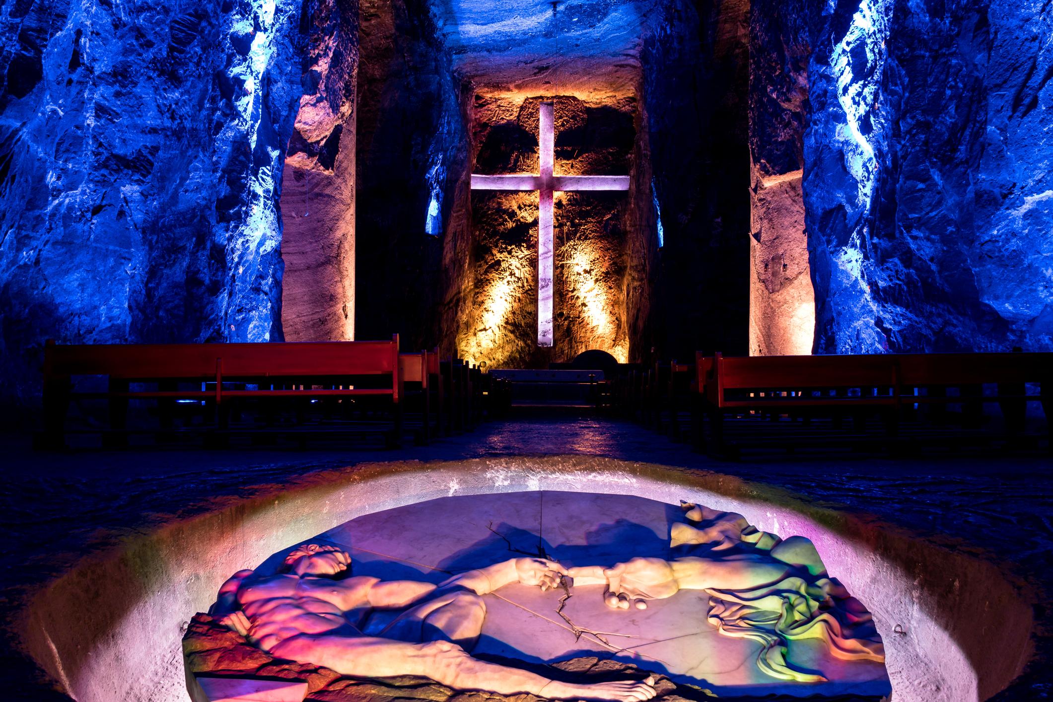 Cathédrale de sel souterraine, Colombie