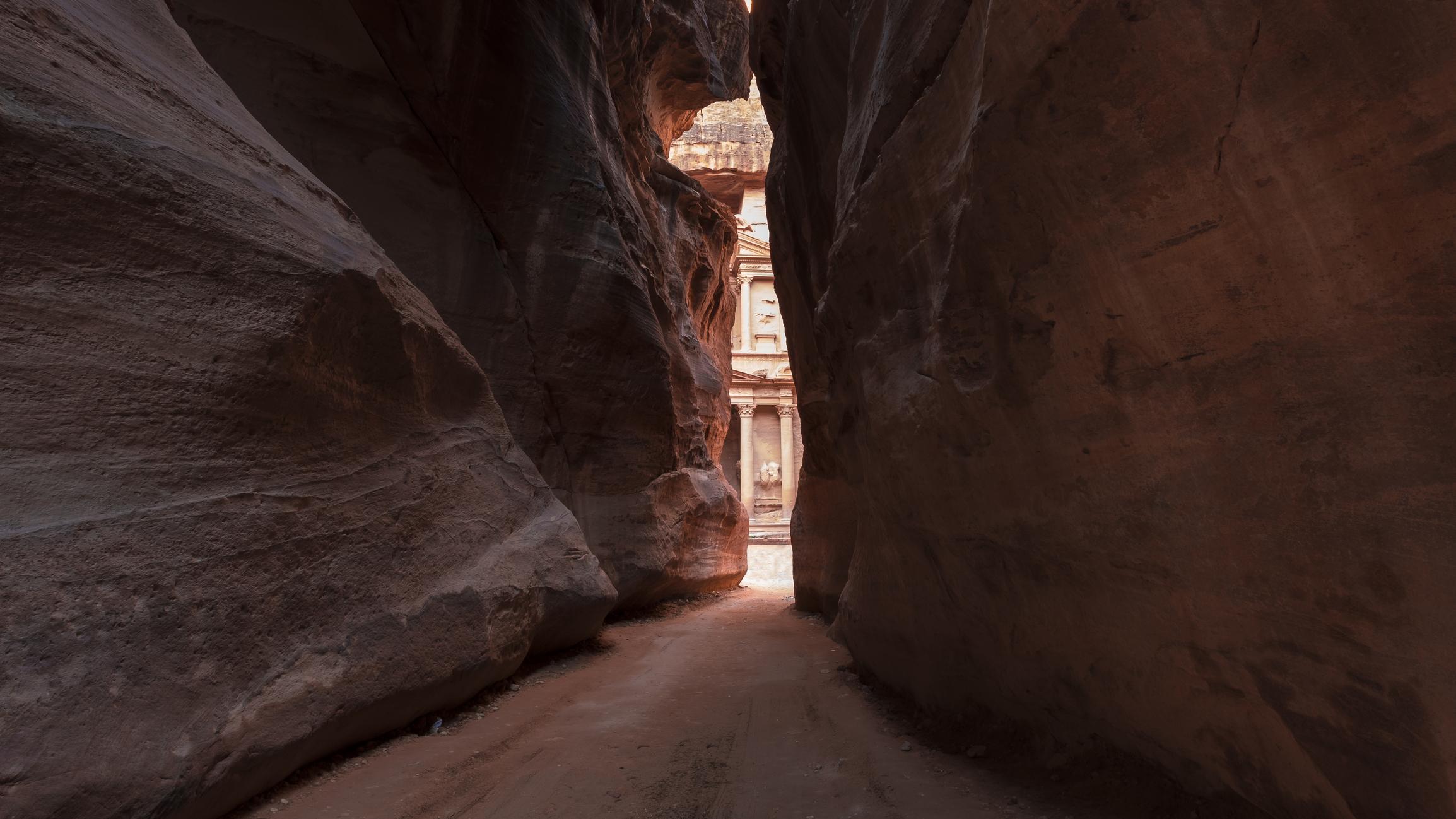 Gorge Siq Al Khazneh