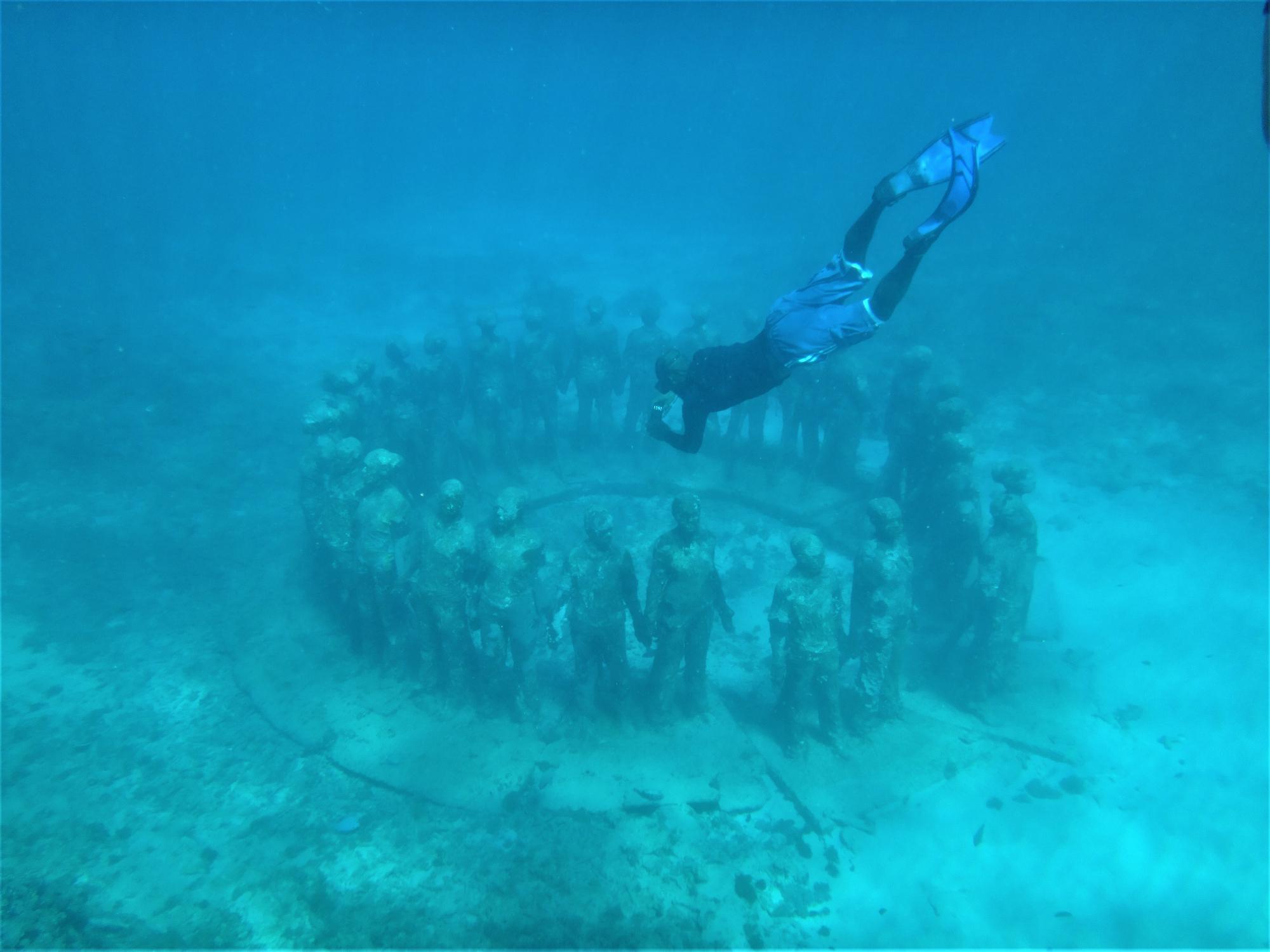 Musée subaquatique de Molinere